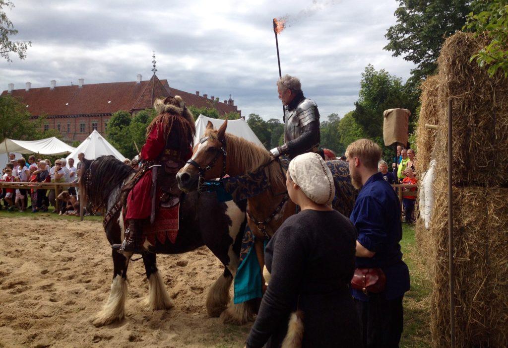 Middelalderdage, Voergaard Slot, uge 29, Vendsyssel, Danmark.