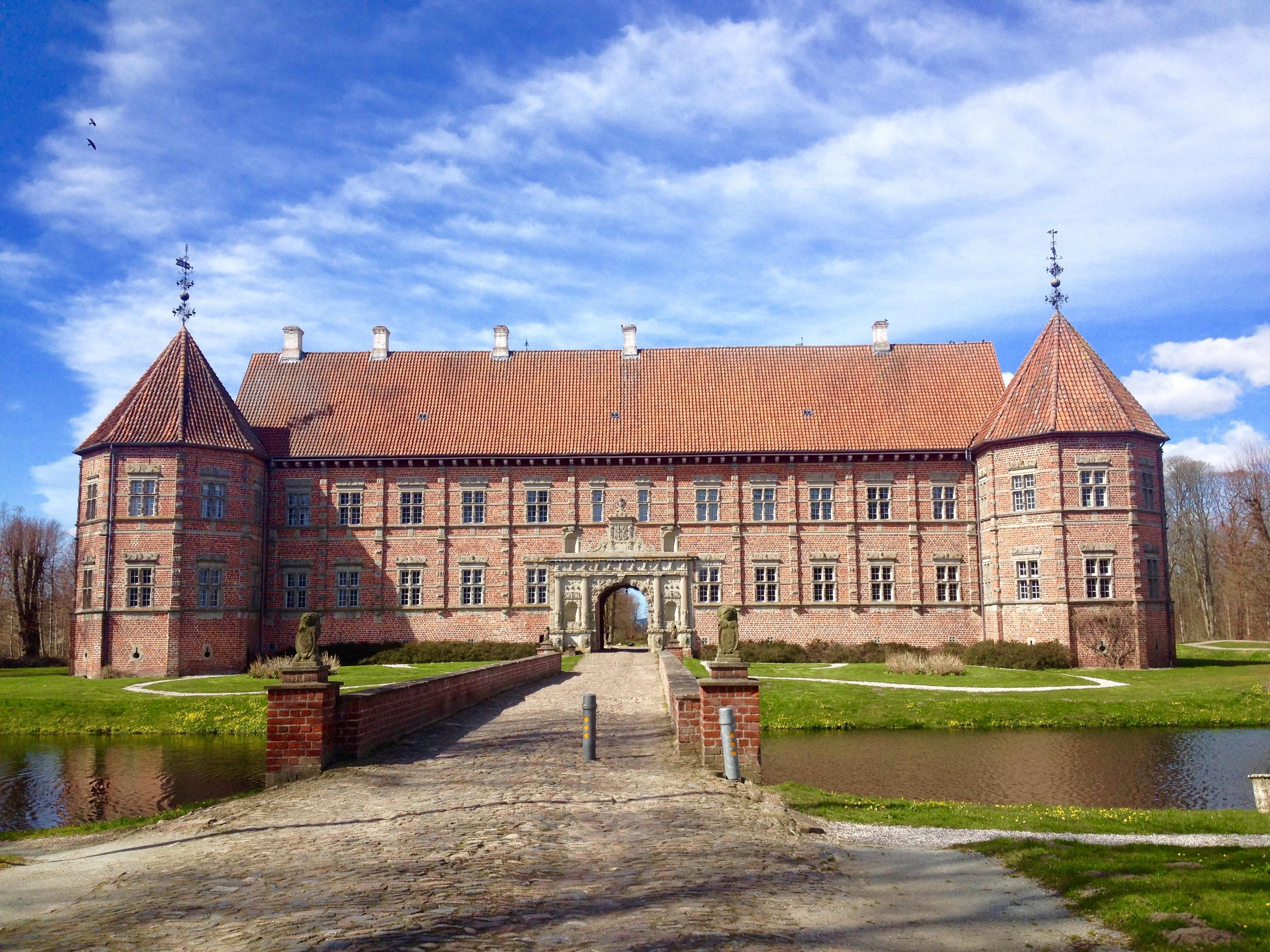 Reænssanceslottet Voergaard slot i Sæby