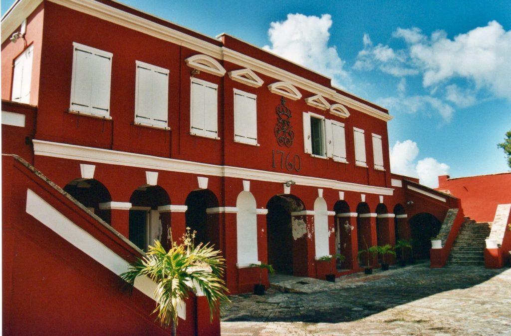 Fort Frederik, Frederiksted, St. Croix, US Virgin Islands