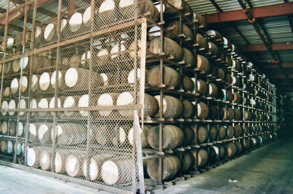 Cruzan Rum Destillery, St. Croix, US Virgin Islands.