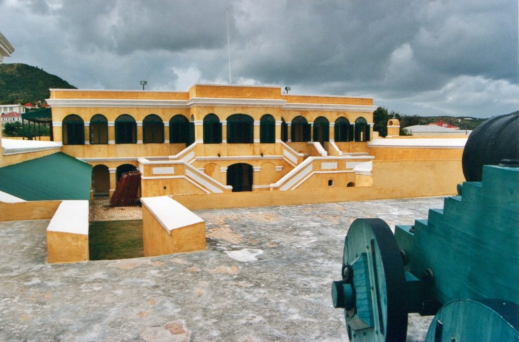 Fort Christiansværn, Christiansted, St. Croix, US Virgin Islands.